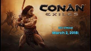 Разработчики Conan Exiles продемонстрировали новые механики, экипировку и анимации