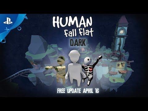 Human: Fall Flat - Dark Update Announce Trailer | PS4 - Thời lượng: 63 giây.