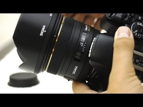 Sigma 50mm f/1.4 HSM lens review (with samples)
