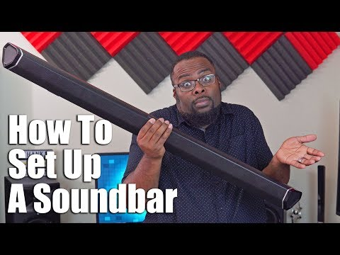 Sound Bar Setup - How To Set Up A Soundbar With HDMI, ARC, Optical