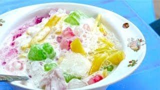 Cách làm sữa chua mít Bà Triệu-Gia truyền phố cổ Hà Nội