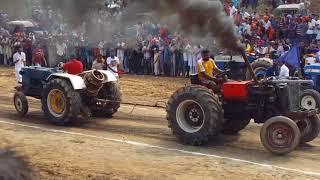 Ford 3600 vs HMT 5911 tractor tochan mukabla