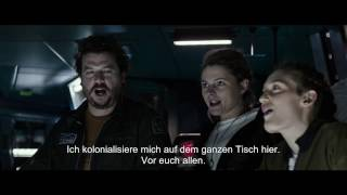 ALIEN COVENANT  Prologue Last Supper  Englisch Mit Deutschen Untertitel