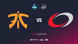 Fnatic vs compLexity Gaming, ESL One Katowice 2019, bo2, game 1, [Eiritel]