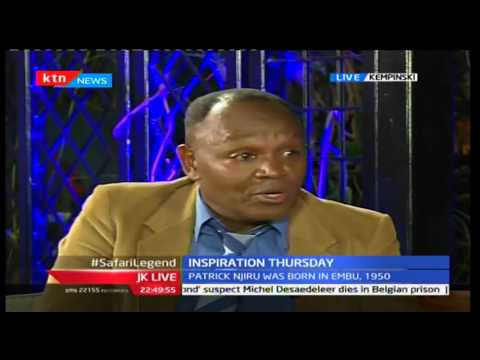 JKL: Inspirational Thursday; Patrick Njiru - Safari Rally Champion, 29/09/2016 Part 3