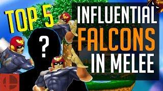 Video Melee Top 5 - Most Influential Captain Falcon Mains Of All Time | SSBM MP3, 3GP, MP4, WEBM, AVI, FLV November 2017