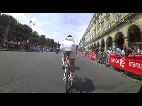 Video: Marianne Vos's on-bike camera footage from La Course