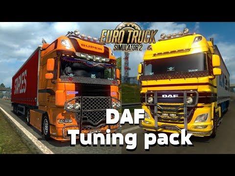 DAF Mega Tuning Pack 1.28.x
