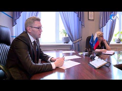 Член Совета Федерации от Новгородской области Алексей Костюков провел сегодня прием граждан по личным вопросам