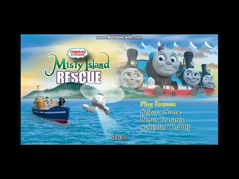 Thomas And Friends Misty Island Rescue DVD Menu Walkthrough