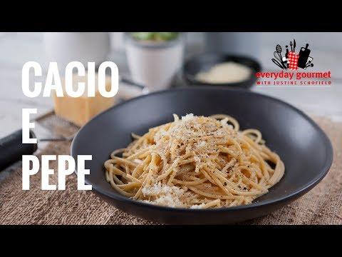 Cacio e Pepe | Everyday Gourmet S7 E31