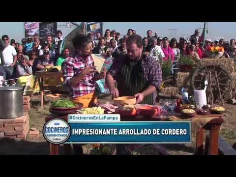 Chivito adobado, rumul coquel, arrollado de cordero, hamburguesas de ciervo y guiso de llama en La Pampa