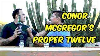 Video Conor McGregor's Proper No. Twelve Irish  Review by Brolic Whiskey MP3, 3GP, MP4, WEBM, AVI, FLV Oktober 2018