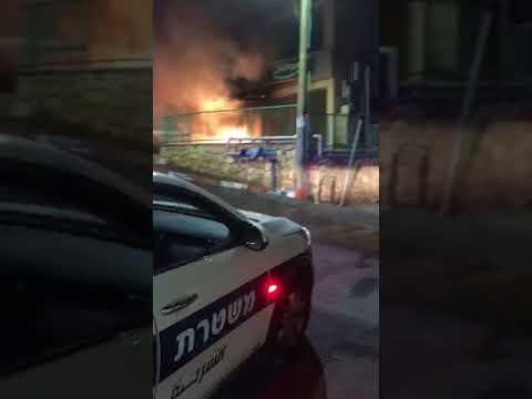 ירי לעבר שני סניפי בנקים בכפר ראמה