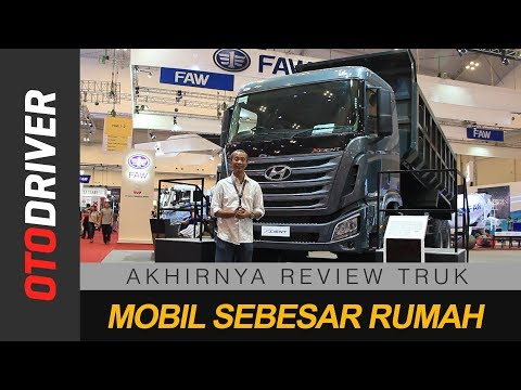 Hyundai Xcient 6x4 2018 Indonesia | First Impression | Otodriver