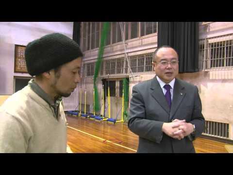 京丹後米軍基地地元説明会(峰山小学校)2014.04.17 市長に突撃!