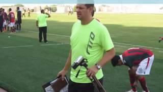 treinamento com os goleiros U19  do ettifaq clube;temporada 2016-2017.