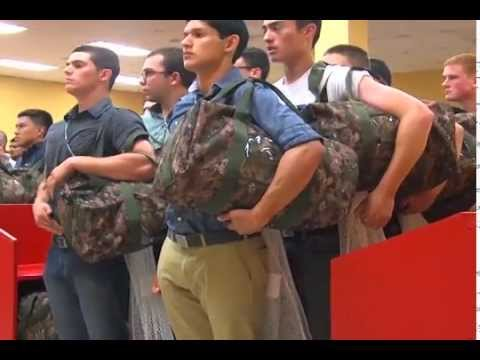 boot - CBS 7 travelled to Marine Corps Recruiting Depot San Diego in June 2014 for a taste of Marine Boot Camp. Here is the raw footage of what we saw the first few hours at MCRD.