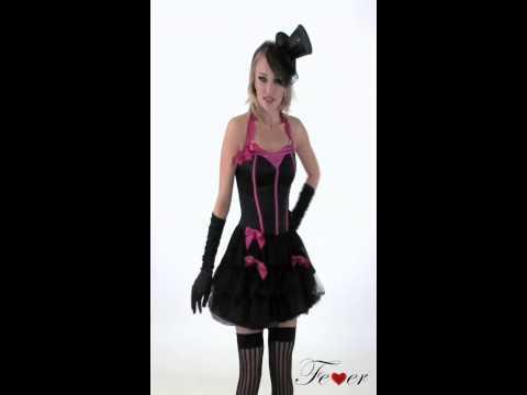 Costume Burlesque sexy pour femme