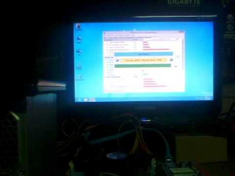 MB GB H61M-DS2 v2.2 Test 01.05.13 (видео)