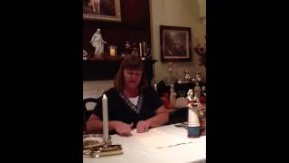 How to fold Turkey tail Thanksgiving napkins properly - YouTube