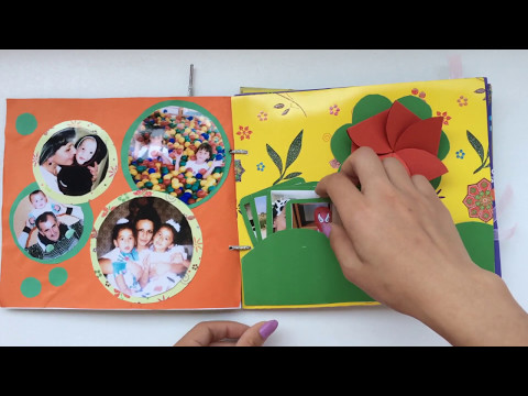 DIY | FAMILY PHOTO ALBUM | SCRAPBOOK