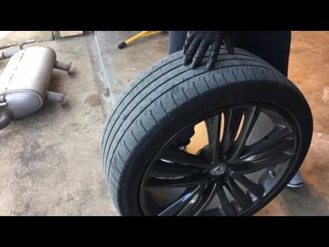 Infiniti Q50 vs G37 Wheels and Top Speed Exhaust Install