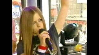 Avril Lavigne MTV TRL 2002