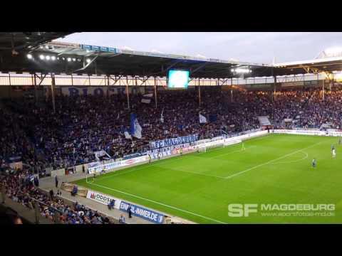 Video: Wechselgesang 1. FC Magdeburg gegen SC Paderborn 09.08.2016