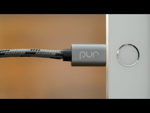 pur MFI Certified Lightning Cable for iPhone & iPad - Review