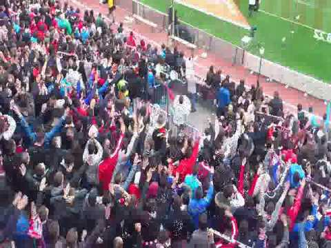 Frente Atlético Derbi. Atlético de Madrid vs Real Madrid 2013.