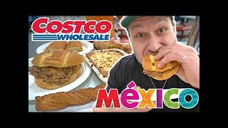 Video Trying MEXICAN Costco FOOD COURT Fast Food For The First Time! MP3, 3GP, MP4, WEBM, AVI, FLV Oktober 2018