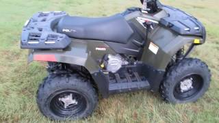 2. POL304085 2008 Polaris Sportsman 300 4x4, only 12 hours, IFS, for sale in texas