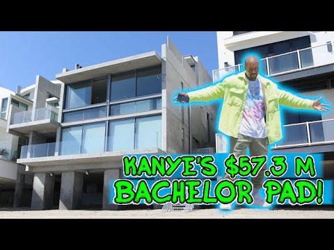 Kanye West Drops $57.3M On Stunning Malibu Beachside Bachelor Pad