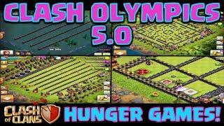 Video Clash of Clans - Clash Olympics BUILDER BASE! *Hunger Games* MP3, 3GP, MP4, WEBM, AVI, FLV Agustus 2017