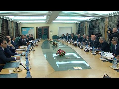M. Hassad préside une réunion pour évaluer les dispositifs sécuritaires des aéroports