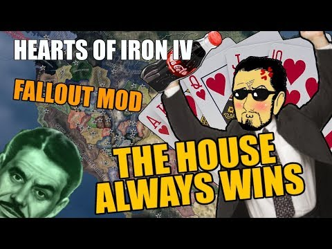 Hearts Of Iron 4: THE HOUSE ALWAYS WINS - Fallout Mod (видео)