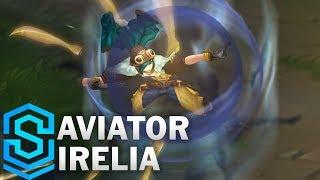Aviator Irelia (2018 Rework) Skin Spotlight - Pre-Release - League of Legends