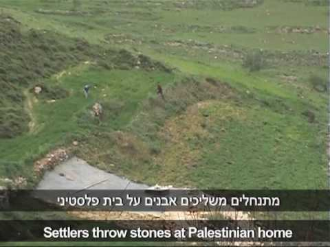 Settler shoots at Palestinian demonstrators with soldiers present