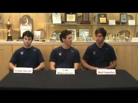 Yale Men's Tennis vs. Army Press Conference