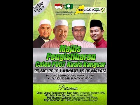 Majlis Pengishtiharan Calon P067 Kuala Kangsar (Live)