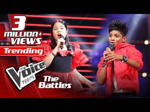 The Battles : Kyle Mario V Ishita Premnath | Un Poco Loco | The Voice Teen Sri Lanka