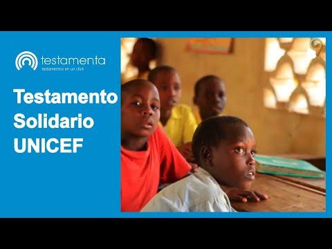 Testamento Solidario UNICEF
