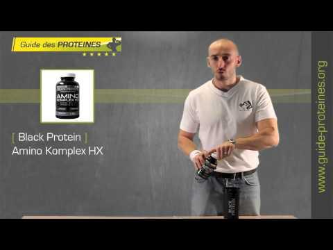 Test et Avis : Amino Komplex - BlackProtein
