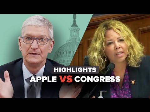 Everything Apple CEO Tim Cook just said to Congress in 15 minutes