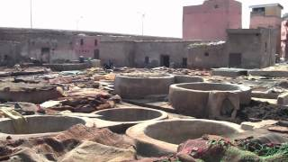 An overview of the city of Marrakech, Morocco, including souks, tannery, jamaa el fna, museum of Marrakech, Bahia Palace, Saadian tombs and more.