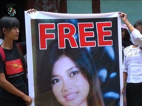 Keep fighting, jailed student tells Latpadaung protestors