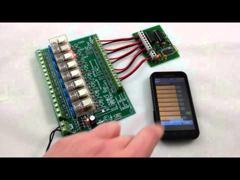 Video of MXRC1 Bluetooth Remote Control