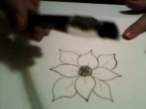 blume zeichnen zeichnen lernen. Black Bedroom Furniture Sets. Home Design Ideas