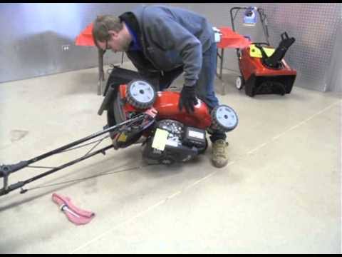 How To Change Your Lawn Mower Oil | Toro Residential Push Mower